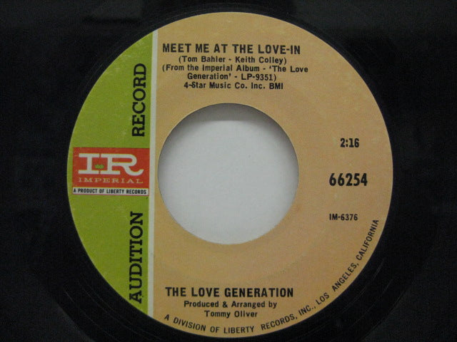 LOVE GENERATION - Meet Me At The Love In