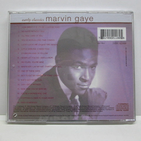 MARVIN GAYE - Early Classics (EU CD)