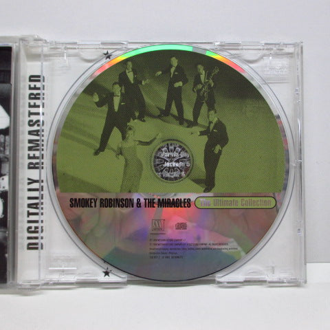 MIRACLES (SMOKEY ROBINSON & THE) - The Ultimate Collection (US CD)