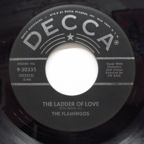 FLAMINGOS - The Ladder Of Love / Let's Make Up