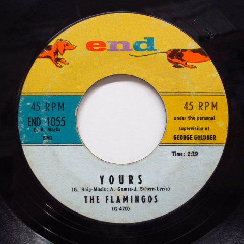FLAMINGOS - Love Walked In / Yours
