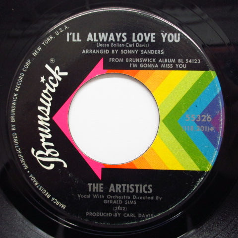 ARTISTICS - I'll Always Love You / Love Song (Orig.)