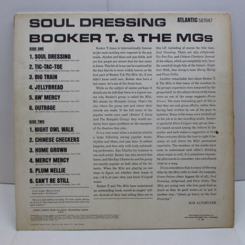 Booker T. & the Mg's soul dressing (uk60's substance mono / CS)