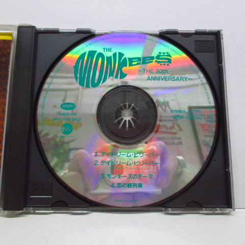 MONKEES - The 30th Anniversary/Day Dream Believer +3 (Japan Promo Sampler CD)