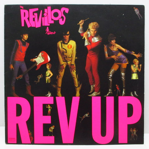 REVILLOS, THE - Rev Up (UK Reissue LP/OVED 53)
