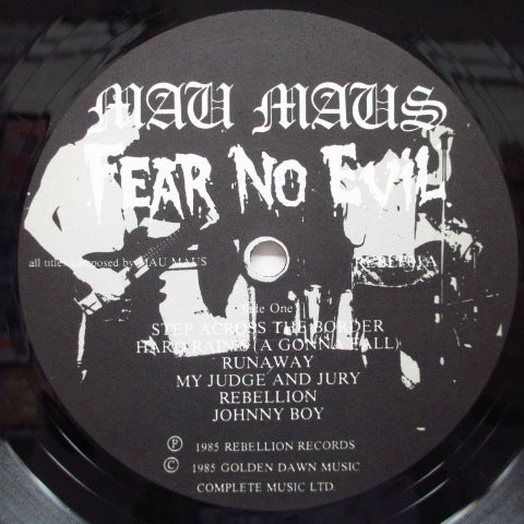 MAU MAUS - Fear No Evil (UK Orig.LP)