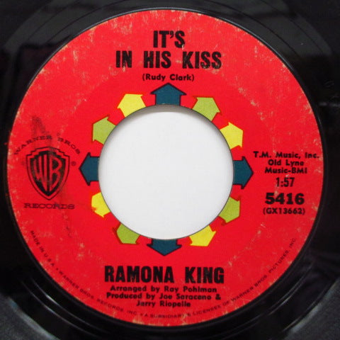 RAMONA KING - It's In His Kiss