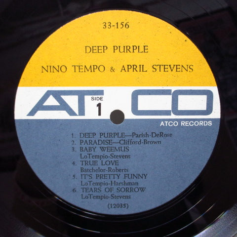 NINO TEMPO & APRIL STEVENS - Deep Purple (US Orig.Mono)