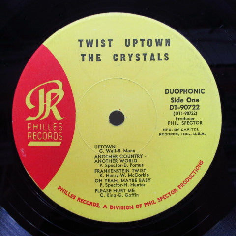 CRYSTALS - Twist Uptown (US Capitol Club Stereo LP)