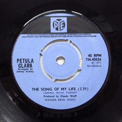 "PETULA CLARK - The Song Of My Life (UK Orig.Stereo 7"")"