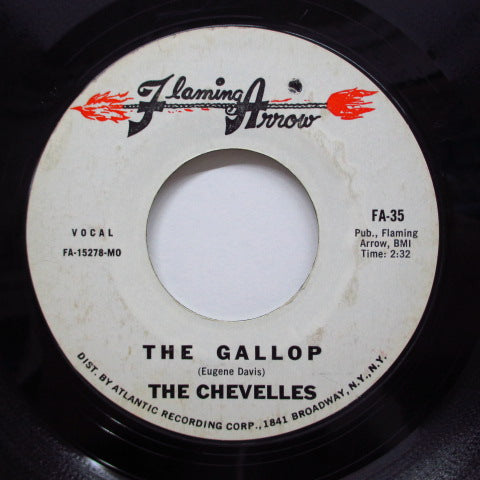 CHEVELLES / GLORIA WALKER - The Gallop (Red Arrow Logo)
