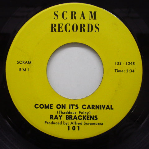 RAY BRACKENS - Do The Craw Fish / Come On It's Carnival