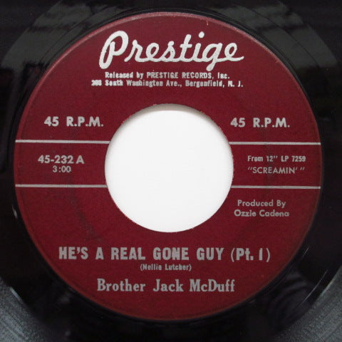 JACK McDUFF (BROTHER JACK McDUFF) - He's Real Gone Guy (Part 1 & 2)
