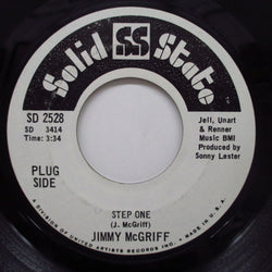JIMMY McGRIFF(JIMMIE McGRIFF) - Step One / South Wes (Promo)