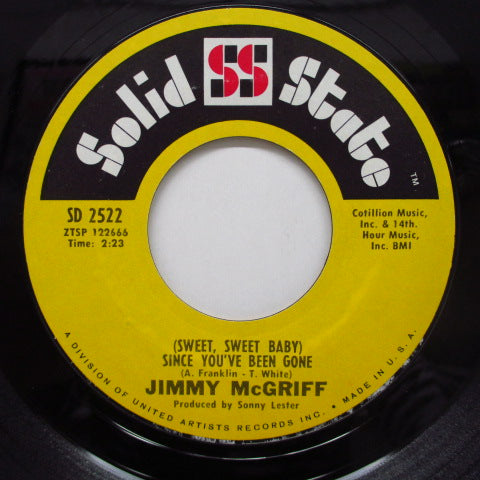 JIMMY McGRIFF(JIMMIE McGRIFF) - Since You've Been Gone