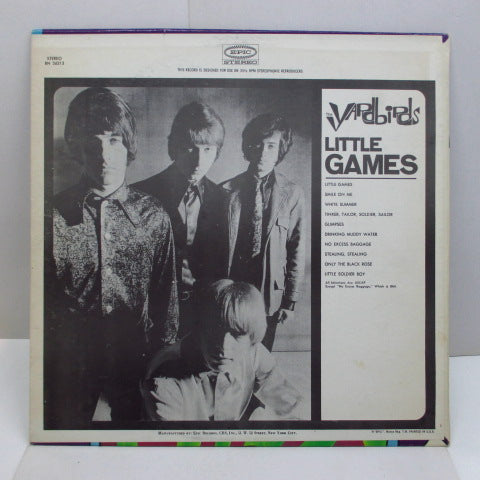 YARDBIRDS - Little Games (US Orig.STEREO)