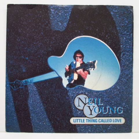 "NEIL YOUNG - Little Thing Called Love (UK Orig.7""+PS)"