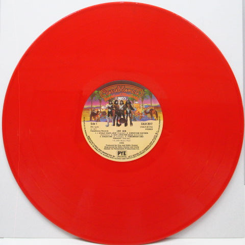 KISS - Love Gun (UK Ltd.Red Vinyl LP)