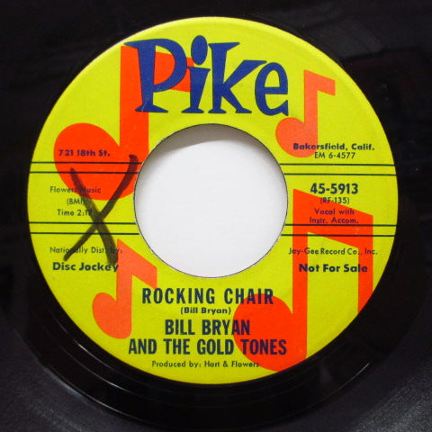 BILL BRYAN & THE GOLD TONES - Rocking Chair (Promo)