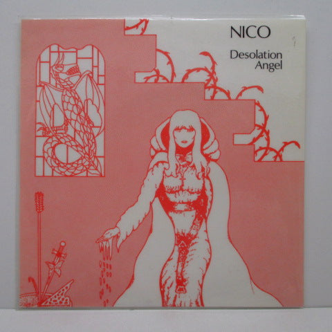 NICO - Desolation Angel (Italy Unofficial 4-Track EP)