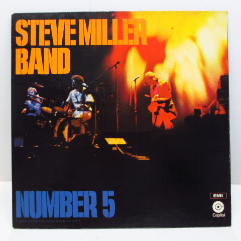 STEVE MILLER BAND - Number 5 (UK Orig.2xLP/GS)