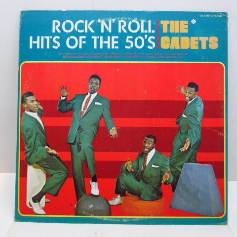 CADETS - R&R Hits Of The 50's (70's Reissue Mono LP)