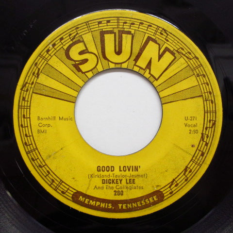 DICKEY LEE & THE COLLEGIATES - Good Lovin' (Orig)