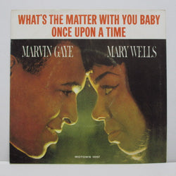 "MARVIN GAYE & MARY WELLS - Once Upon A Time (US Orig.7""+PS)"