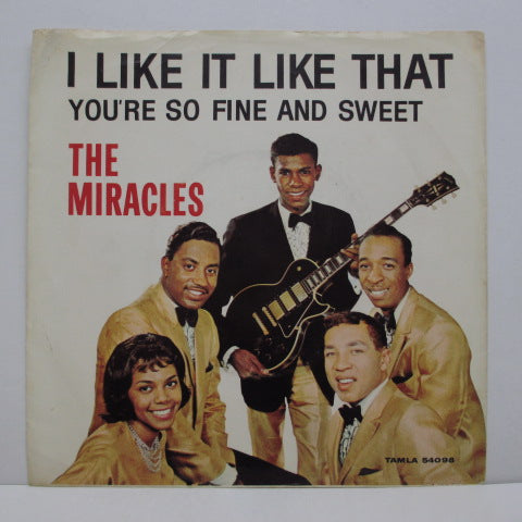 "MIRACLES (SMOKEY ROBINSON & THE) - I Like It Like That (US Orig.7""+PS)"