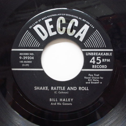 BILL HALEY & HIS COMETS - Shake, Rattle And Roll (Orig)
