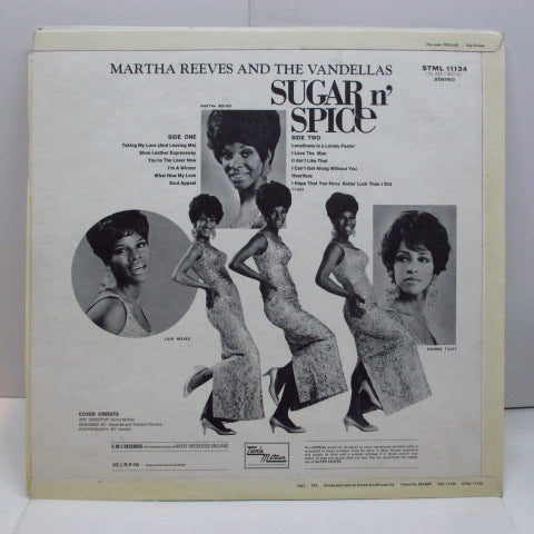 MARTHA & THE VANDELLAS - Sugar n' Spice (UK Orig.Stereo/CFS)