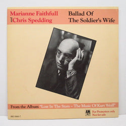 "V.A.  - Ballad Of The Soldier's Wife (German Promo 7""+GS)"