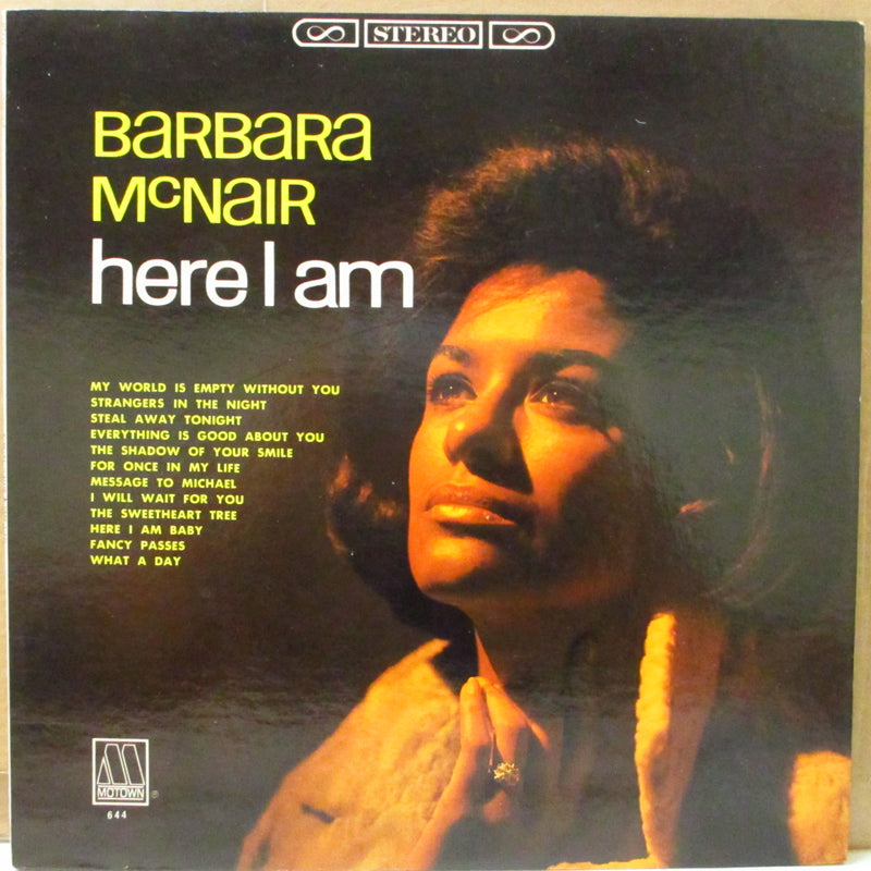BARBARA MCNAIR (バーバラ・マクネアー)  - Here I Am (US Orig.Stereo LP)