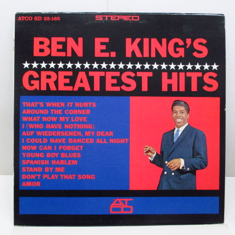 BEN E. KING - Ben E. King's Greatest Hits (US 80's Reissue STEREO)