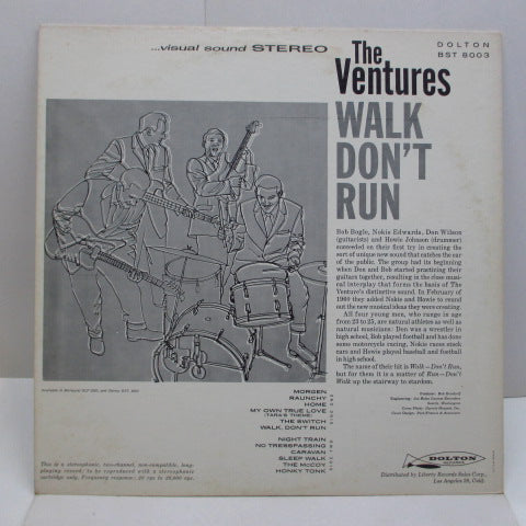 VENTURES - Walk Don't Run (US 60's Reissue STEREO)