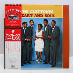 CLEFTONES - Heart And Soul (日本 '81 Reissue Mono)