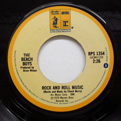 BEACH BOYS - Rock And Roll Music (US:Re)