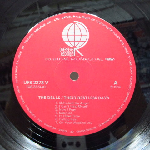 DELLS - Their Restless Days (Japan Orig.Mono)
