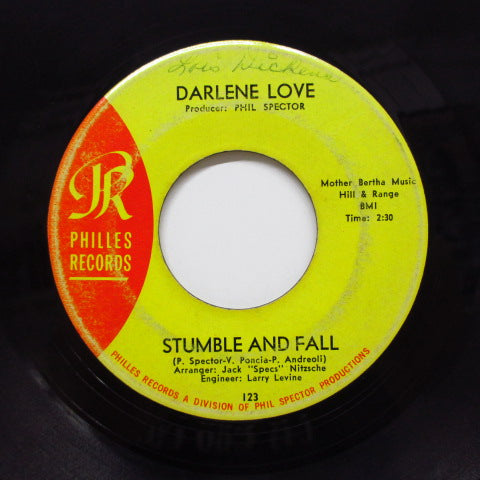 "DARLENE LOVE - Stumble And Fall (US Orig.7""+CS/Philles-123)"