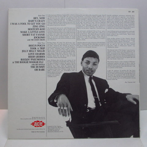 LARRY WILLIAMS - Alacazam (UK-German Orig.LP)