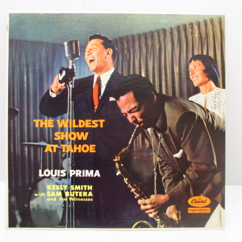 LOUIS PRIMA & KEELY SMITH - The Wildest Show At Tahoe (US Orig,Mono LP)