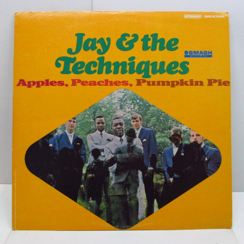 JAY & THE TECHNIQUES - Apples, Peaches, Pumpkin Pie (US Orig.Stereo LP/Artist Photo CVR)