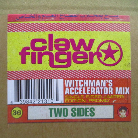 "CLAWFINGER (クロウフィンガー)  - Two Sides - Witchman's Accelerator Mix (Sweden Ltd.Promo.10"")"