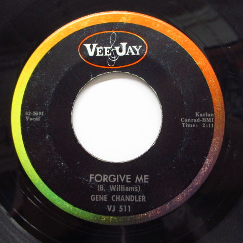 GENE CHANDLER - Check Yourself / Forgive Me