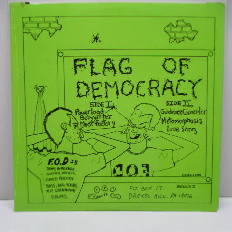"F.O.D. (FLAG OF DEMOCRACY) - Love Songs (US Reissue 7"")"