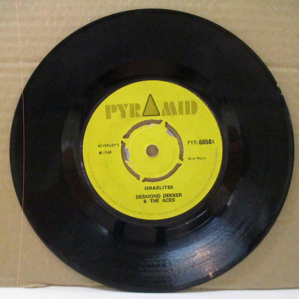 "DESMOND DEKKER & THE ACES - Israelites (UK Orig.Yellow Lbl.Round Center 7"")"