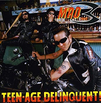MAD 3 - TEEN-AGE DELINQUENT (LTD.PROMO LP)