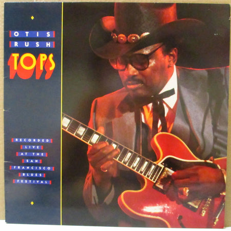 OTIS RUSH (オーティス・ラッシュ)  - Tops (UK-Frrance Orig.LP)