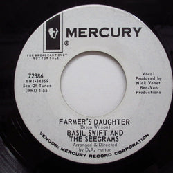 BASIL SWIFT AND THE SEEGRAMS - Farmer's Daughter (US:PROMO)