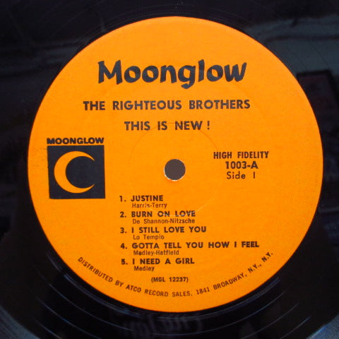 RIGHTEOUS BROTHERS - This Is New ! (US Orig.Mono LP)